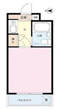 マンション(建物一部)-渋谷区幡ヶ谷2丁目 間取り