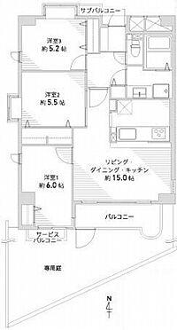 中古マンション-豊中市本町4丁目 間取り