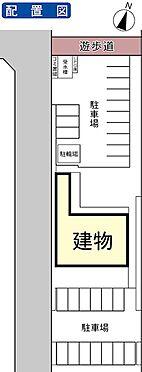 マンション(建物全部)-つくば市東光台4丁目 配置図