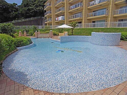 中古マンション-伊東市八幡野 子供用屋外プールです。