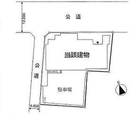 倉庫-板橋区加賀1丁目 区画図