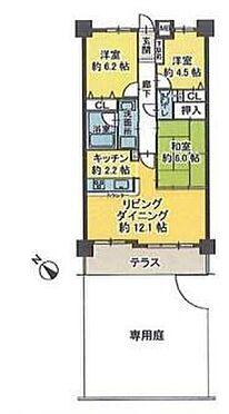 中古マンション-名古屋市緑区大高町字下塩田 間取図
