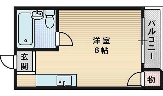 マンション(建物全部)-寝屋川市寿町 間取り