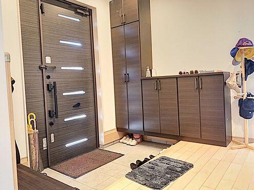 戸建賃貸-知多郡東浦町大字石浜字南ヶ丘 安心のダブルロックドアの玄関