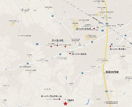 事務所(建物全部)-八街市東吉田 地図