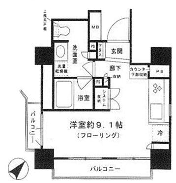 マンション(建物一部)-中央区東日本橋3丁目 間取り