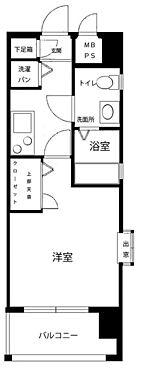 マンション(建物一部)-福岡市中央区草香江2丁目 間取り