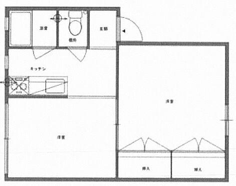 中古マンション-川崎市宮前区南平台 間取り
