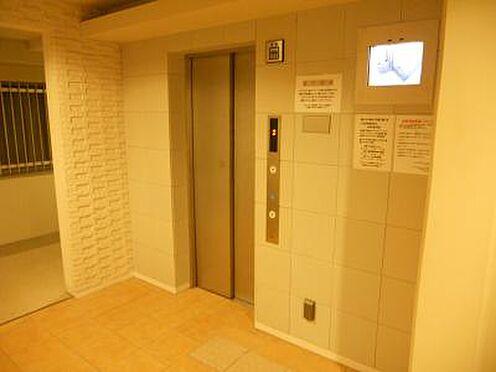 マンション(建物一部)-京都市下京区七条御所ノ内北町 防犯性に配慮されたエレベーター