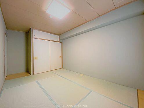 区分マンション-横浜市神奈川区栄町 和室(約7帖)