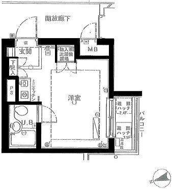 マンション(建物一部)-世田谷区尾山台3丁目 間取り