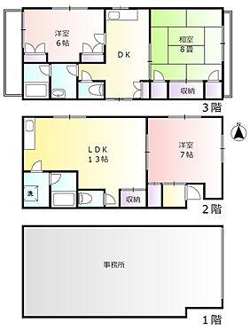 一棟マンション-大田区上池台5丁目 2から3階の間取り