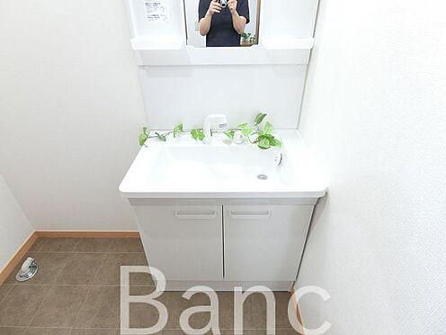 中古一戸建て-足立区佐野2丁目 沢山収納できる独立洗面台です。