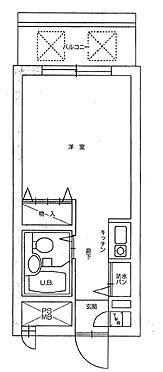 マンション(建物一部)-墨田区東向島3丁目 間取り