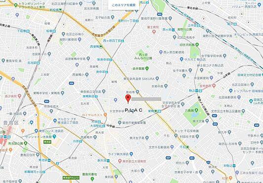 マンション(建物全部)-豊島区巣鴨3丁目 地図