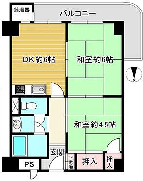 マンション(建物一部)-京都市伏見区東奉行町 嬉しいL字バルコニー付き