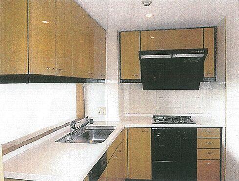 区分マンション-港区南青山4丁目 キッチン(賃貸入居前の写真です)