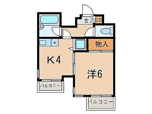 マンション(建物一部)-横浜市神奈川区六角橋2丁目 間取り