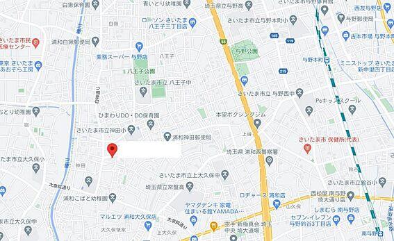 アパート-さいたま市桜区大字神田 地図