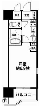 マンション(建物一部)-大阪市中央区安堂寺町1丁目 間取り