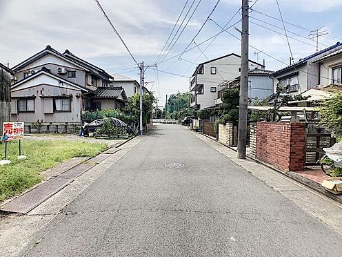 土地-名古屋市中川区春田1丁目 広々間口約7.4m!毎日の駐車も楽ちん♪