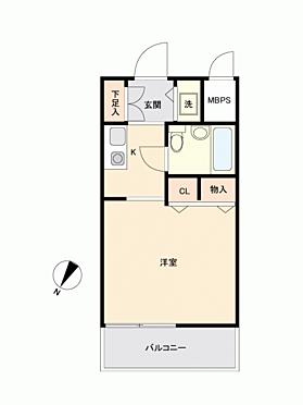 中古マンション-横浜市神奈川区六角橋4丁目 間取り