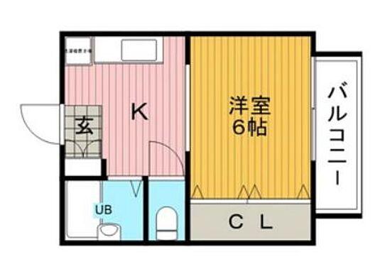 マンション(建物全部)-箕面市粟生間谷西3丁目 1DKのセパレートです。