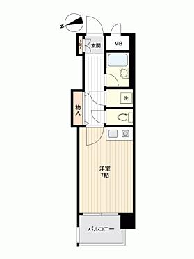 マンション(建物一部)-熊本市中央区船場町 間取り