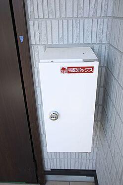新築一戸建て-大和高田市南今里町 全戸に小型の宅配ボックスを完備しました。