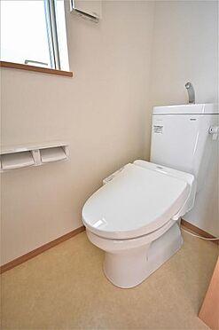 新築一戸建て-仙台市宮城野区栄3丁目 トイレ
