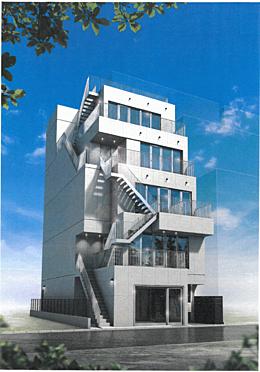 店舗事務所(建物全部)-立川市柴崎町3丁目 建物完成イメージパース