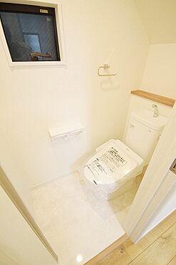 新築一戸建て-八王子市大楽寺町 トイレ