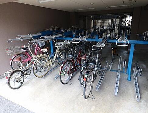 マンション(建物一部)-京都市南区東九条宇賀辺町 雨の日も安心の屋内駐輪場
