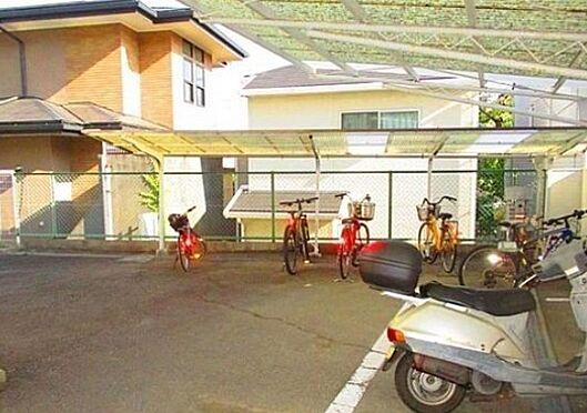 マンション(建物一部)-神戸市東灘区住吉山手2丁目 雨を凌ぐ駐輪スペース