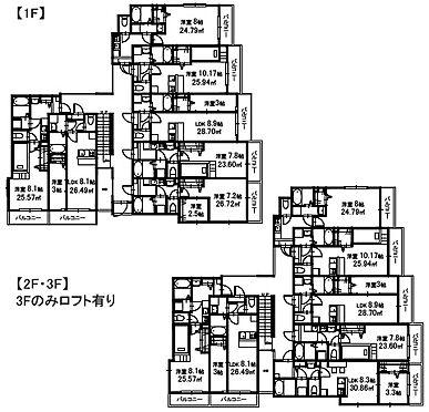 アパート-富士見市鶴瀬東1丁目 間取り図