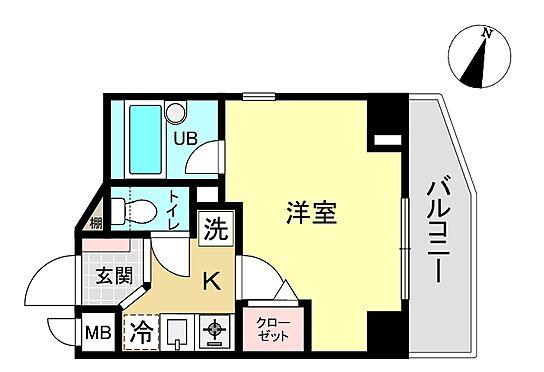 中古マンション-墨田区本所3丁目 間取り