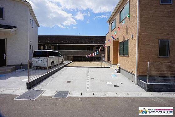 新築一戸建て-塩竈市野田 駐車場
