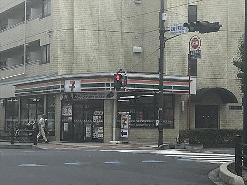 土地-さいたま市南区鹿手袋6丁目 セブンイレブン 武蔵浦和駅西口店(1378m)