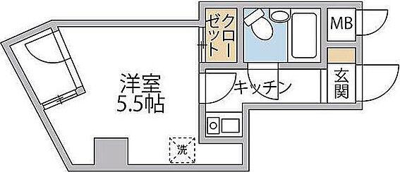 マンション(建物一部)-台東区三ノ輪2丁目 間取り