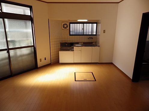 アパート-足立区足立1丁目 1階ダイニングキッチン(約7.0帖)