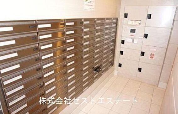 マンション(建物全部)-大阪市都島区東野田町5丁目 便利な宅配ボックス完備