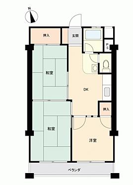 マンション(建物一部)-横浜市旭区中希望が丘 間取り