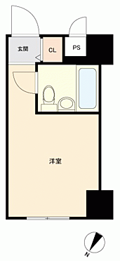 マンション(建物一部)-福岡市博多区祇園町 間取り