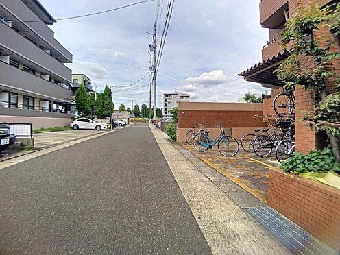 中古マンション-名古屋市天白区笹原町 見晴らし良好な前面道路