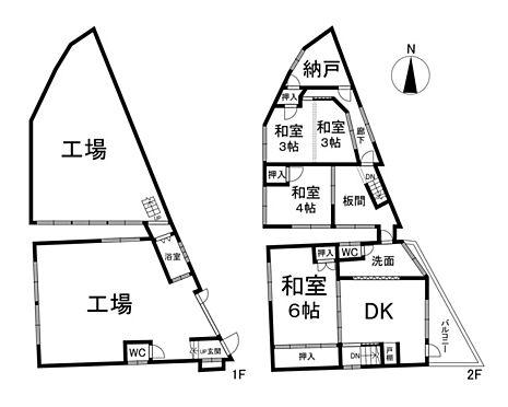 土地-大阪市北区天満橋3丁目 区画図