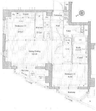 マンション(建物一部)-品川区荏原1丁目 間取り