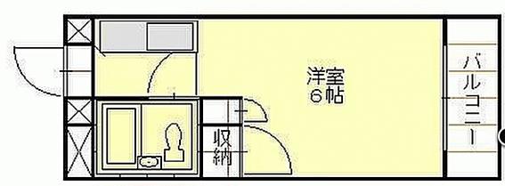 マンション(建物一部)-秋田市千秋矢留町 間取り