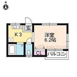 奈良線 稲荷駅 徒歩3分