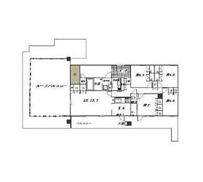 マンション(建物一部)-姫路市広畑区小松町2丁目 間取り