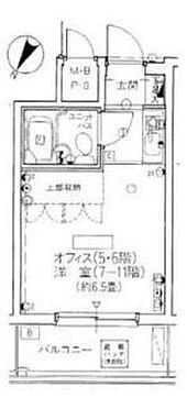マンション(建物一部)-横浜市南区浦舟町1丁目 間取り